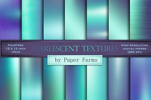 Pearlescent textures