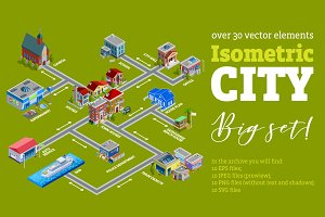 Isometric City Set