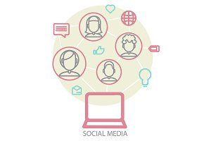 Set With Social Networks