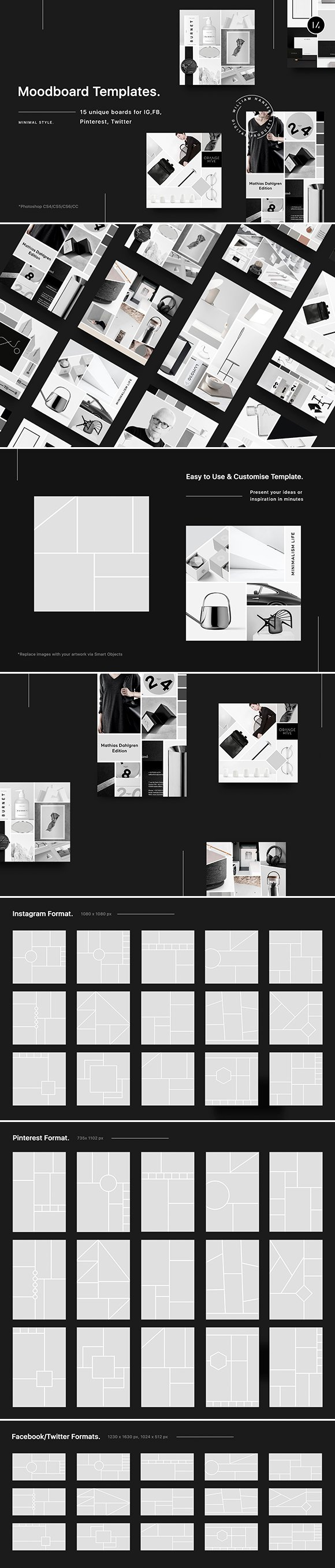 61b2a4f3877 15 Creative Ways to Present Your Mood Boards ~ Creative Market Blog