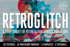 RetroGlitch | Photoshop Bundle