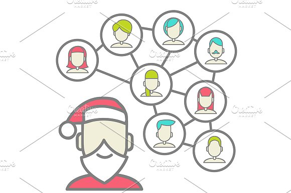 Christmas Social Networks