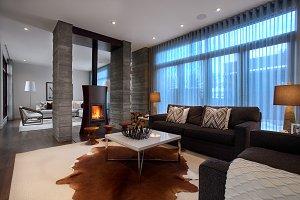 Stunning Contemporary Living Room