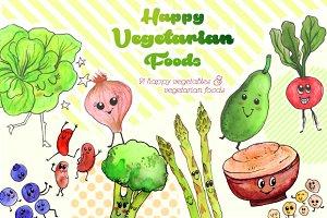 Happy Vegetarian Foods