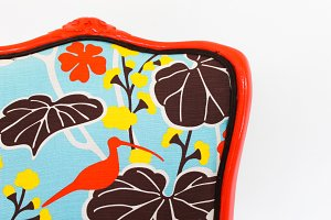 Vintage Chair in Orange