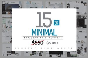 Minimal Bundle Template (95%OFF)