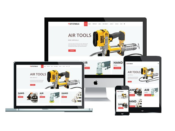 ET ETool-Equipment Joomla Template