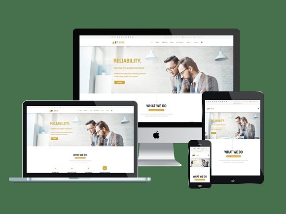 ET Epic-Corporation Joomla Template