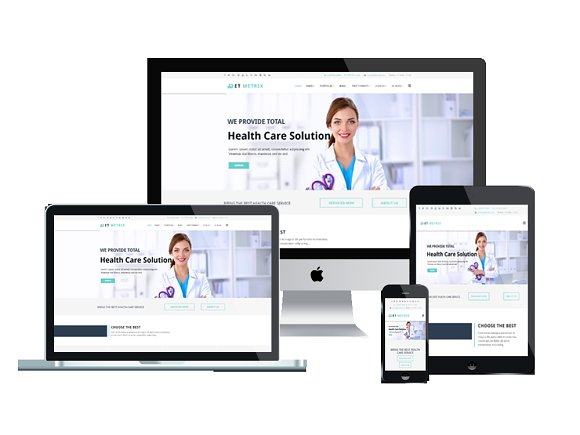 ET Metrix-Medical Joomla Template