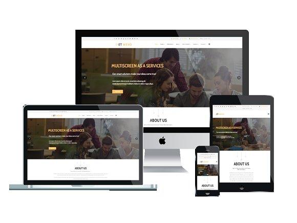 ET Wevo-Web Design Joomla Template