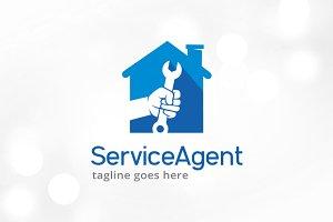 Service Agent Logo Template Design