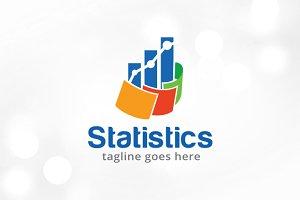Statistics Logo Template Design