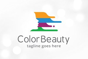 Color Beauty Logo Template