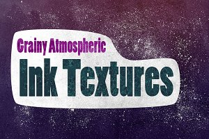 Grainy Atmospheric Ink Textures