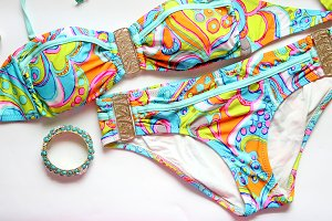 Fashion stock photography swimsuit