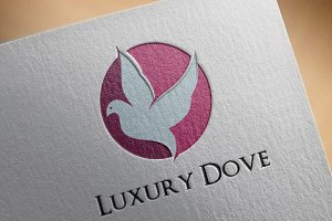 Dove Pigeon Bird Abstract Logo