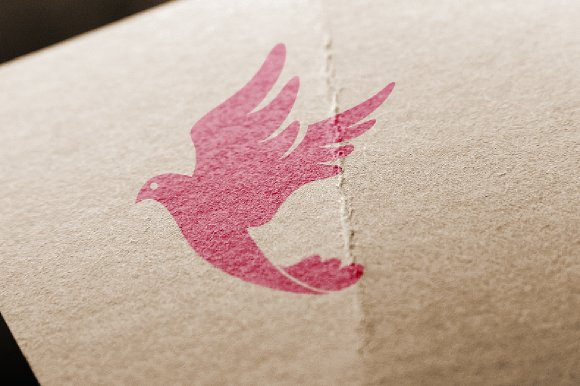 Dove Logo Luxury Flying Bird in Logo Templates - product preview 2