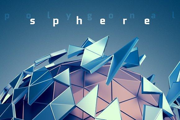 Abstract Spheres 3D Renders