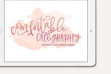 Comfortable Calligraphy Procreate