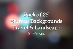 25 Blurred Backgrounds Travel RETINA
