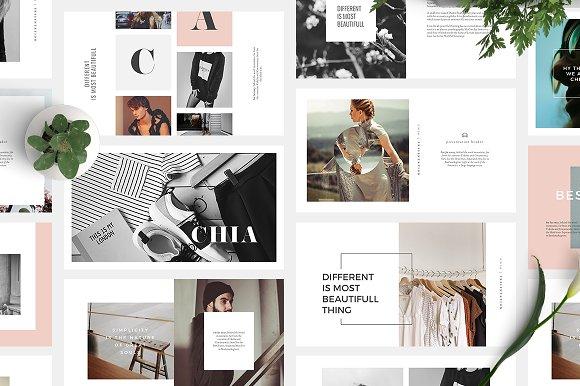 Chia powerpoint template presentation templates creative market chia powerpoint template presentations toneelgroepblik Gallery