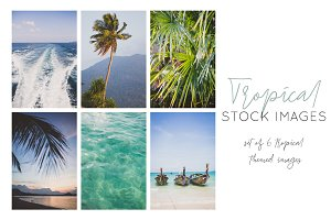 Tropical Social Media Pack