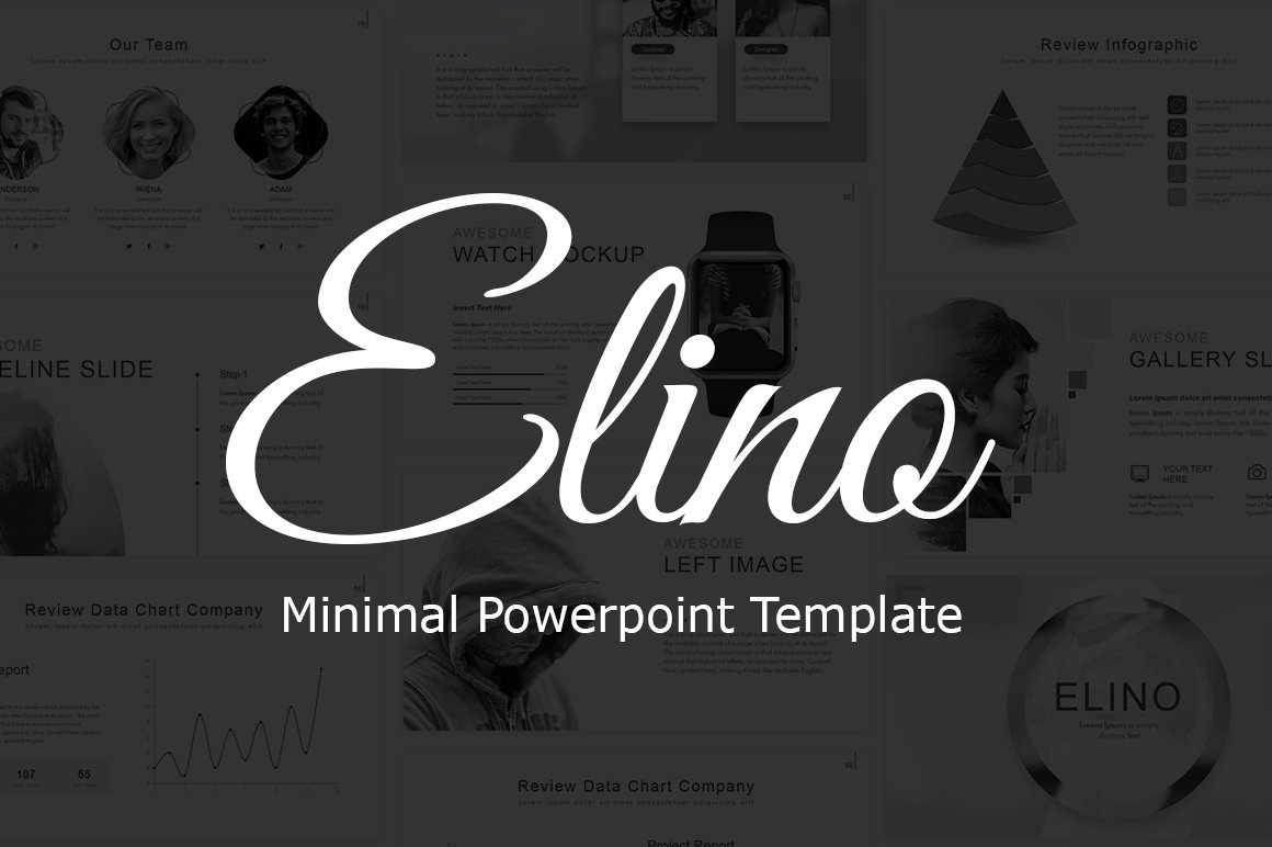 Elino Powerpoint Template ~ Presentation Templates ~ Creative Market