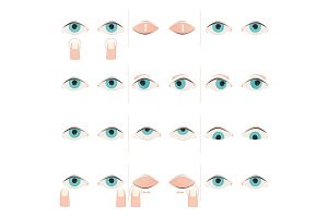 Exercises for eyes. Eyes gymnastics