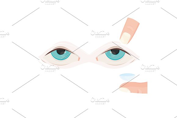 Steps To Put In Contact Lens
