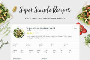 Super Simple Recipes - Recipe Cards
