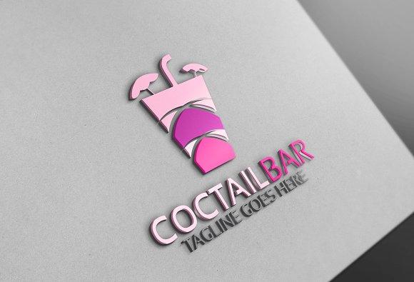 Cocktail Bar Logo