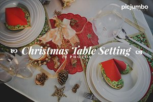 Christmas Setting Photo Pack!