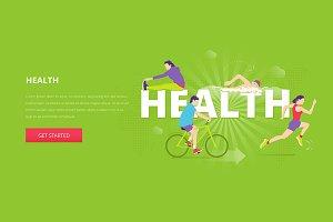 Health hero banner