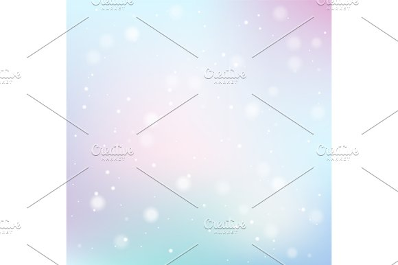 Vector Abstract Bokeh Background