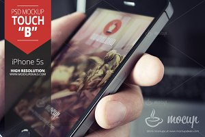 """iPhone Mockup Touch """"B"""""""