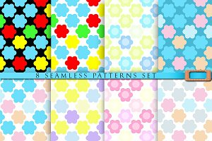 8 Multicolor baby patterns