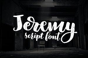 Jeremy - 3 fonts