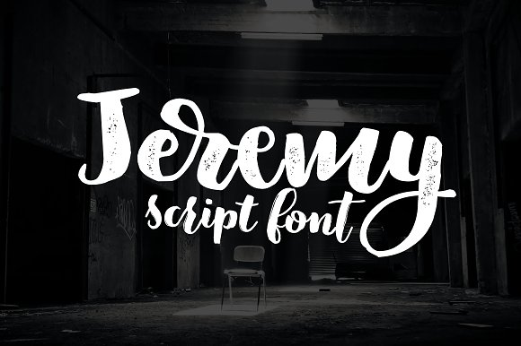 Jeremy 3 Fonts 50% Off
