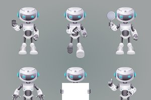 Different Poses Robot