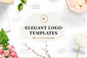 32 Elegant Logo Templates