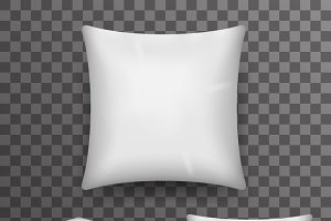 Pillow Realistic 3d
