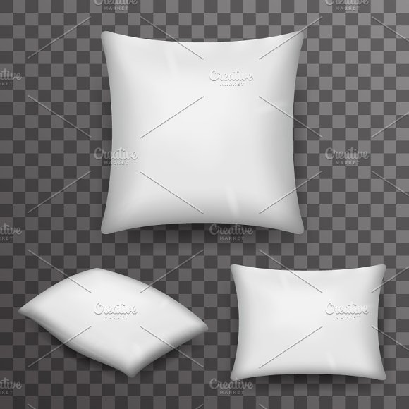 Pillow Realistic 3D