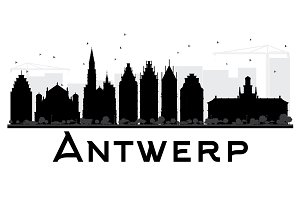 Antwerp City skyline