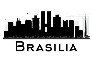 Brasilia City skyline