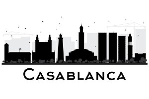 Casablanca City skyline