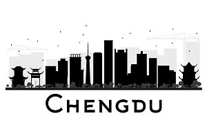 Chengdu City skyline