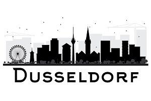 Dusseldorf City skyline