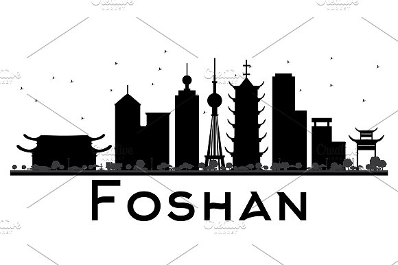 Foshan City Skyline