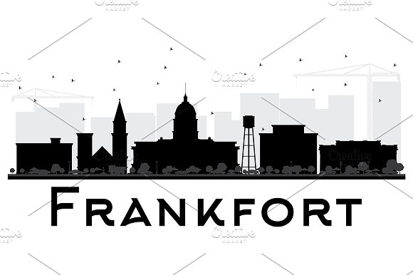 Frankfort City Skyline