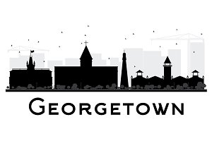 Georgetown City skyline